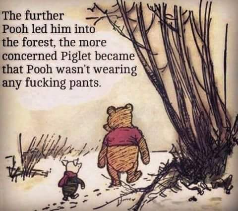 Pooh Pants